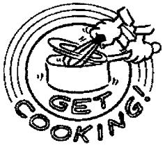 Baking clipart recipe book 5