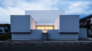 100 Houses Architecture Magazine FORMKouichi Kimuras Metal Clad House Embodies A Japanese Gate