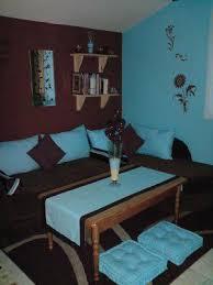 chambre bleu turquoise chambre turquoise chambre avec coin salon turquoise et marron