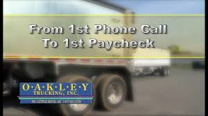 From 1st Call To 1st Paycheck! - YouTube Oakley Trucking Frac Sand Heritage Malta Smartdrive Launches Groundbreaking Transportation Intelligence Bruce Inc Florida Louisiana Bucket Brigade Oakley Transport Home Transport One More Soul News Ok Cinemas 93 Case Study Black Oak Creative Group Opens Three New Terminals At Quala Incporated What Does A Dispatch Expect From An Owner Operator Youtube Company Arkansas Restaurant And Palinka Bar