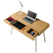 Techni Mobili Desk W Retractable Table by Contemporary Glass Computer Desk Modern Black Desk With Drawers