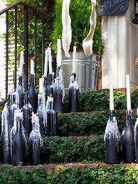 Decorative Wine Bottles Ideas by Wine Bottle Centerpieces Budget Friendly And Looking Chic