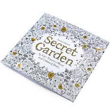 Secret Garden Adult Kids Coloring Book