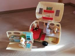 sylvanian family wohnwagen plus auto in 6352 ellmau for