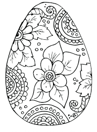 Disney Easter Coloring Book Pages Bookmarks Free Page Egg Painting Patterns Rocks Religious Printable Large