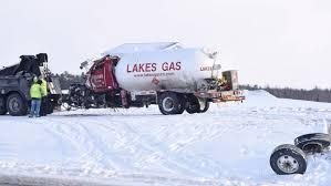 100 Propane Truck Tanker Truck Crash Closes Highway 71 In Northern Minn