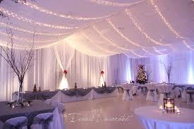 Elegant Indoor Wedding Reception Decorations