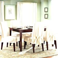 Pottery Barn Chair Covers Parson Slip Dining Room Slipcovers Bed Bath And