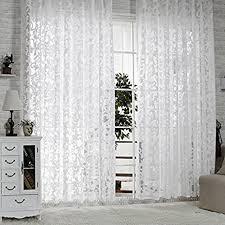 r lang gardinen wohnzimmer mit kräuselband oben vorhang weiß hxb 245x300 cm