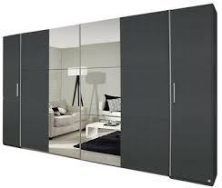 kleiderschränke grau b 218 schlafzimmer schiebetüren