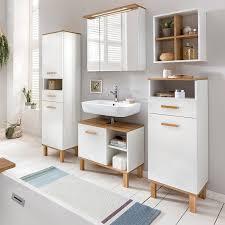 badmöbel set 90 cm badschrank spiegel drehbar
