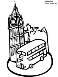 Print Coloring Page And Book England 2 Pages For Kids Of All Ages