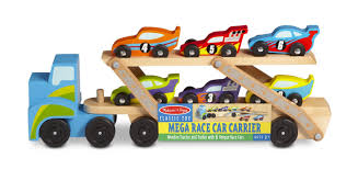 Melissa & Doug Mega Race-Car Carrier - Wooden Tractor And Trailer ... Prtex 60cm Detachable Carrier Truck Toy Car Transporter With Product Nr15213 143 Kenworth W900 Double Auto 79 Other Toys Melissa Doug Mickey Mouse Clubhouse Mega Racecar Aaa What Shop Costway Portable Container 8 Pcs Alloy Hot Mini Rc Race 124 Remote Control Semi Set Wooden Helicopters And Megatoybrand Dinosaurs Transport With Dinosaur Amazing Figt Kids 6 Cars Wvol For Boys Includes Cars Ar Transporters Toys Green Gtccrb1237