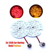 Harley Davidson Light Bulbs by 2x Red 30 Smd Led Motorcycle 1156 Rear Turn Signal Panel Light