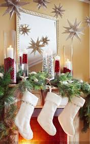 Outdoor Christmas Decorations Ideas On A Budget by Interior Charming Christmas Mantel Decor For Decorating A Holiday