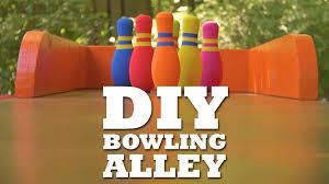 DIY Bowling Lane