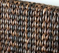 seagrass headboard diy pottery barn seagrass twin headboard