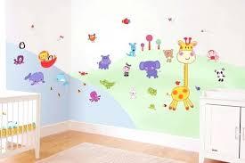 stickers décoration chambre bébé stickers deco chambre garcon stickers pour chambre bacbac avec des