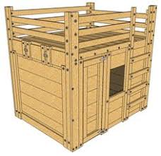 the bed with an escape hatch queen loft bed plans the bed