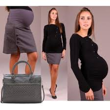 Nice Outfit For Pregnant Women Working Mom To