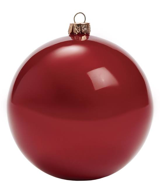 Sullivans Holiday Ornament Red Ball Ornament One-Size