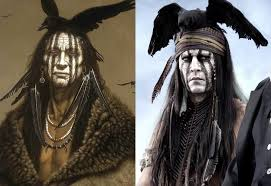 johnny depp explains tonto s look in the lone ranger www