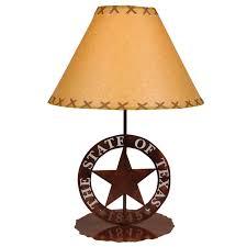 Texas Star Table Lamp