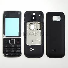 For Nokia C2 01 High Quality New Full Mobile Phone Housing Cover Case English Sold Out