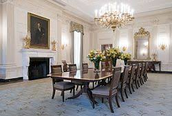 The State Dining Room After Renovation In 2015