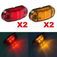 Online Shop CYAN SOIL BAY Amber Red Clearance 2 LED Diode 2.5