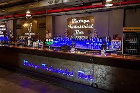 Vintage Industrial bar space Picture of Vintage Industrial Bar
