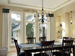 Dining Room Window Treatments Formal Bay