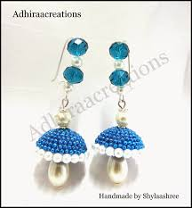 Adhiraacreations: Glitter Jhumkas How To Make Pearl Bridal Necklace With Silk Thread Jhumkas Quiled Paper Jhumka Indian Earrings Diy 36 Fun Jewelry Ideas Projects For Teens To Make Pearls Designer Jewellery Simple Yet Elegant Saree Kuchu Design At Home How Designer Earrings Home Simple And Double Coloured 3 Step Jhumkas In A Very Easy Silk Earring Bridal Art Creativity 128 Jhumka Multi Coloured Pom Poms Earring Making Jewellery Owl Holder Diy Frame With