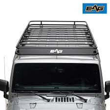 07-18 Jeep Wrangler JK 4 Door Full Length Roof Rack 841630144036   EBay
