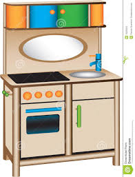Play Kitchen Clip Art