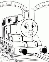 Dessin Circuit Train à Coloriage Thomas Le Petit Train A Imprimer