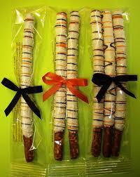 Halloween Pretzel Rods by Simple Confections