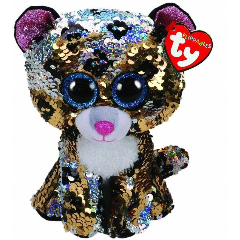 Ty Flippables Sequin Plush - Sterling The Cat (Medium Size - 9 inch)