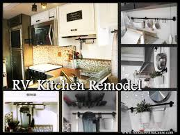 RV Kitchen Remodel Stylish And Modern LOOK