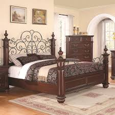 Black Wrought Iron Headboard King Size by Low Wood Wrought Iron King Size Bed Dream Home Pinterest
