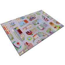 tapis de jeux voitures tapis jeu voiture tapis pour enfant fille ou garçon 2 tailles