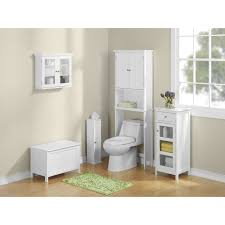 Mainstays Bathroom Space Saver by Axondirect Bathroom Linen Tower Over The Toilet Shelving Unit In