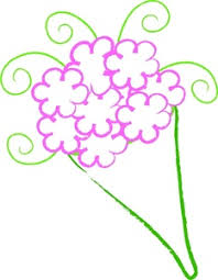 Free Flowers Clip Art Image Flower Bouquet for a Birthday