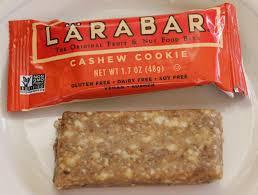 IMG 5670 Lara Bar Cashew Cookie