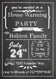 Housewarming Birthday Party Invitations Best Ideas