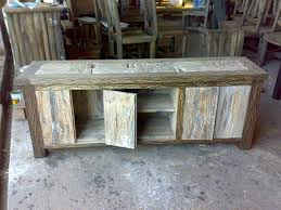 Peaceful Design Ideas Rustic Style Furniture Reclaimed Teak Throughout 0