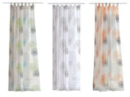 home wohnideen schlaufenvorhang rawlins voile 245 x 140 cm transparent