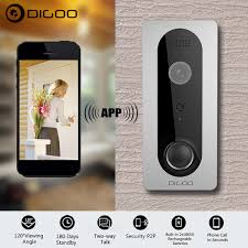 DIGOO 1080P WiFi Wireless Ring Doorbell With Camera Waterproof