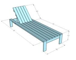 Pool Lounge Chair Dimensions A How To White Build Single Lounger For The Simple Outdoor Size