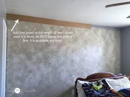Hanging Drywall On Ceiling Or Walls First by How To Install A Plank Wall And How To Avoid The Biggest Mistake